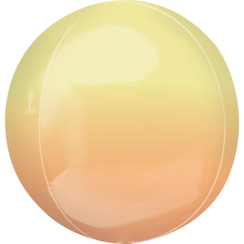 Globo Orbz  Amarillo/Naranja