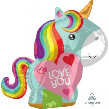 "Globo 18""Unicornio Love"
