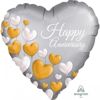 Globo Corazon H.Anniversary Co