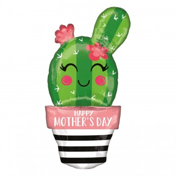 Globo Cactus H.Mother''s Day