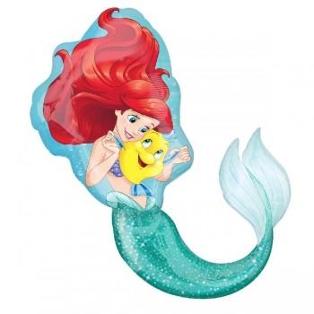 Globo Forma La Sirenita Ariel