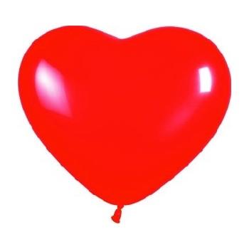 Globo Corazón Rojo R12