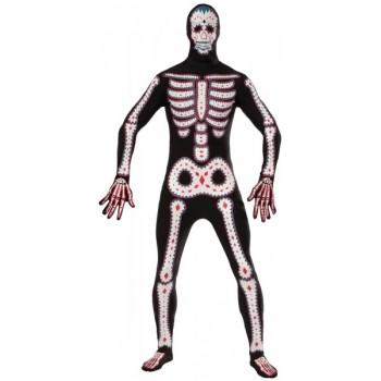 Disf.Malla Esqueleto Decorado