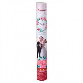 Cañon Confetti Petalos Rosa