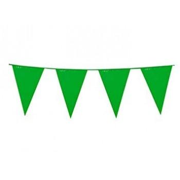 Banderin Triang.Verde 10M