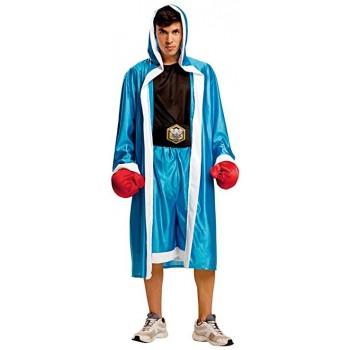 Disf.Boxeador Hombre Azul Ml