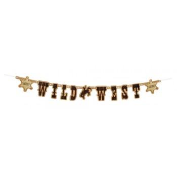 """Guirn.Letras """"Wild West"""" 110Cm"""