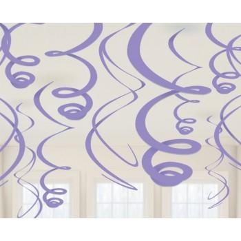 P/12 Colg.Espiral Violeta