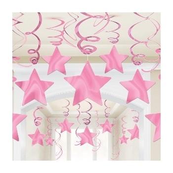 P/30 Col.Espiral Estrella Rosa