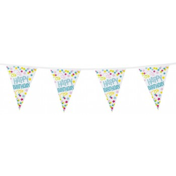 Banderin H.Birthday 6M Puntos