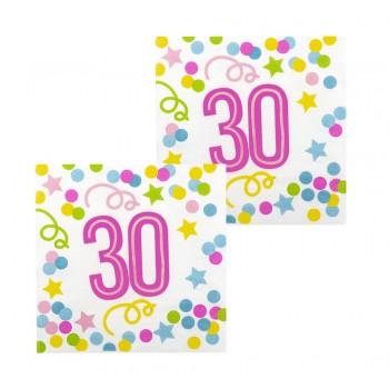 P/12 Serv.Nº30 Confetti