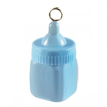 Peso Globo Biberon Azul