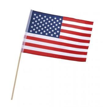 Bandera C/Palo Usa 30X45