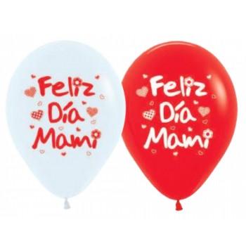 B/10 Globo Surt.Feliz Dia Mami