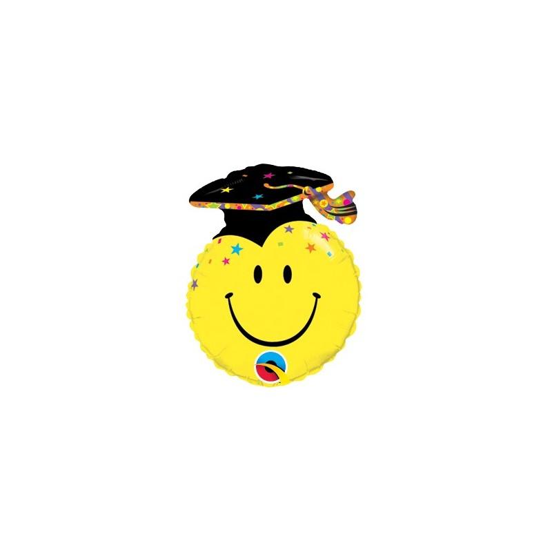 Globo Palo Smile Graduacion