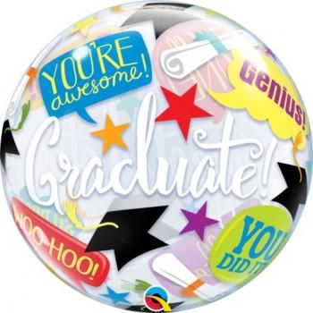 Globo Burbuja Graduado!