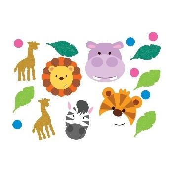 Confetti Animales Jungla