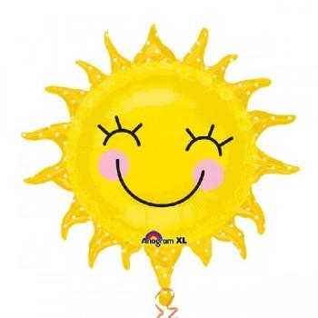 Globo Forma Sol Sonriente