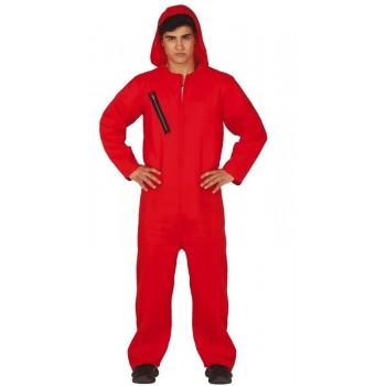 Disf.Convicto Capucha Rojo T-L