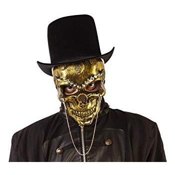 Mascara Steam Punk Skeleton Or