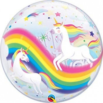Globo Burbuja H.B.Unicornios