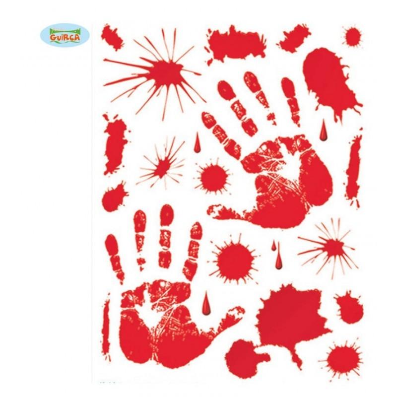Set Adhesivos Sangre