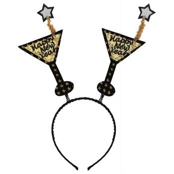 Diadema Copas Happy New Year