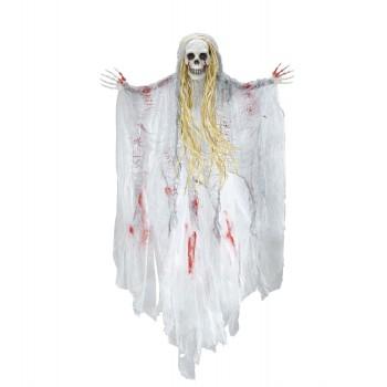 Colg.Esqueleto Blanco C/Sangre