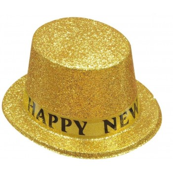 Somb.H.New Year Glitter Oro/Pl