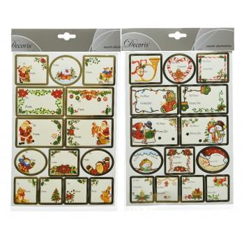 P/28 Etiquetas Regalo Navidad