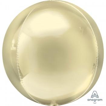 Globo Orbz Amarillo Pastel