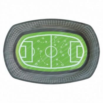 P/6 Plato Campo Futbol Ovalado