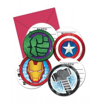 P/6 Inv.Formas Avengers