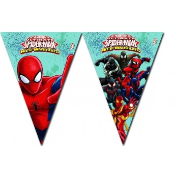 Banderin Spiderman Ultimat.