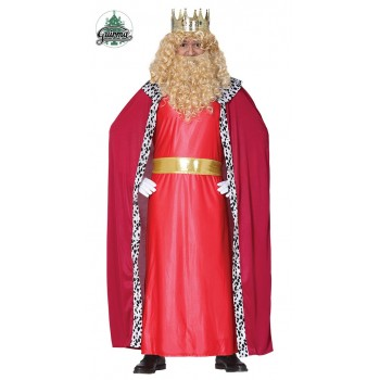 Traje Rey Mago Rojo T-L