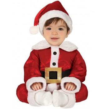Disf.Bebe Papa Noel 6-12Meses