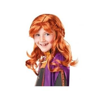 Peluca Inf.Anna Frozen 2