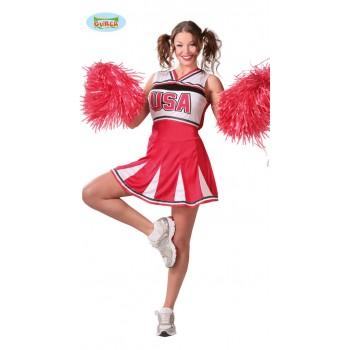 Disf.Cheerleader Adulta T-L