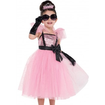 Disf.Inf.Glam Princess 4-6Años