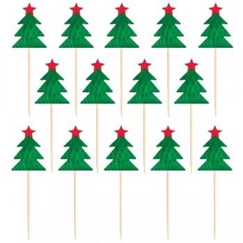 P/12 Pick Arbol Navidad