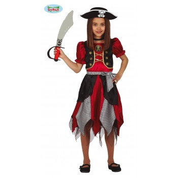 Disf.Inf.Niña Pirata 7-9