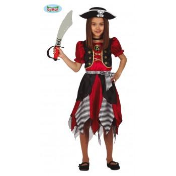 Disf.Inf.Niña Pirata 10-12