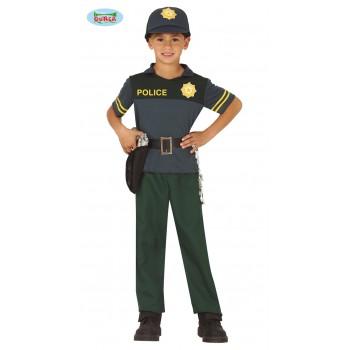 Disf.Inf.Niño Policia 7-9