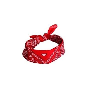 Cinta De Pelo Bandana Roja