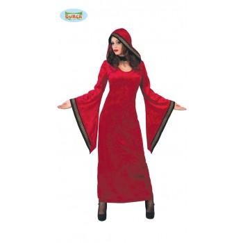 Disf.Beherit Rojo Chica T-U
